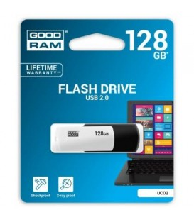 Накопитель USB Goodram 2.0 128GB UCO2 Colour Black&White (UCO2-1280KWR11)