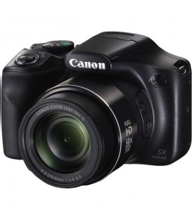 Фотоаппарат Canon Powershot SX540 IS, цифровой, 20Mpix, 4.3-215мм, 50-X, f/3.4-6.5, Черный